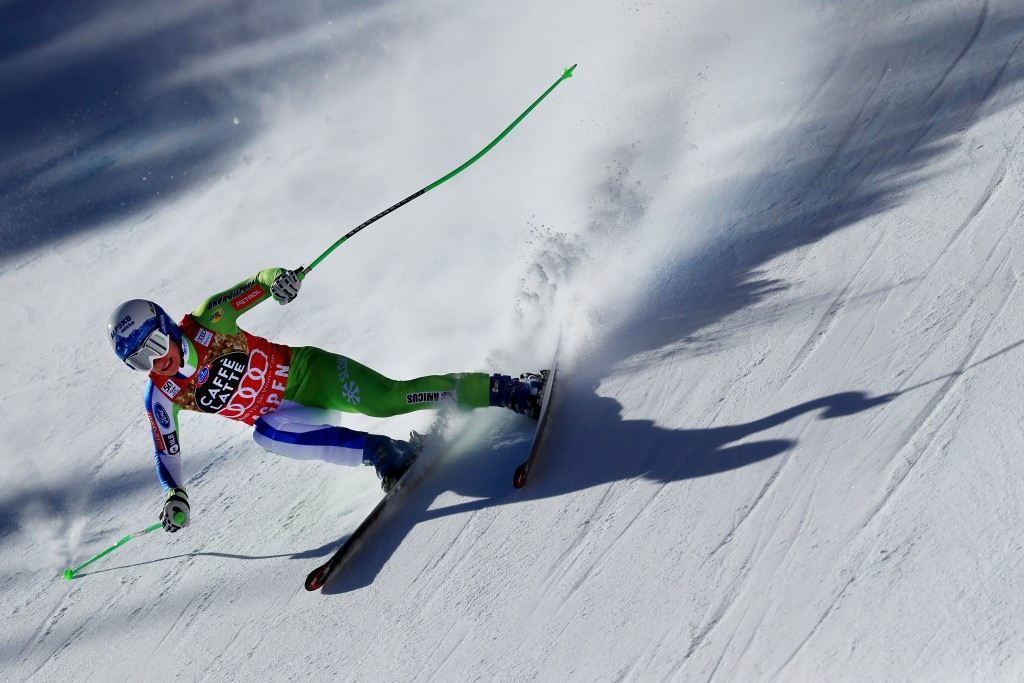 Ilka Štuhec added the overall downhill title to her World Championships gold medal ©Getty Images