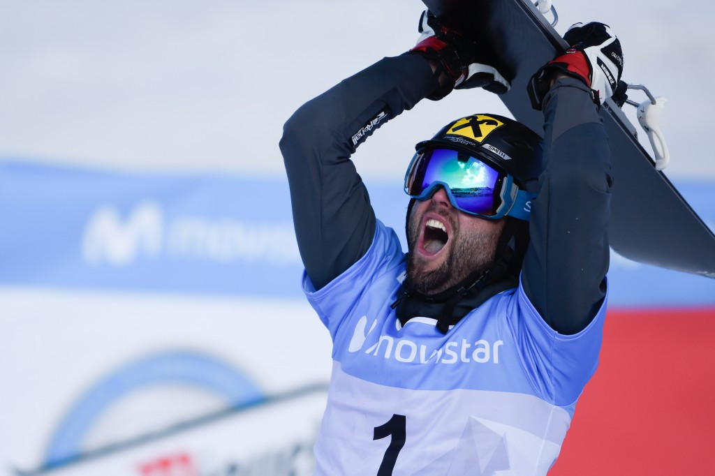 Prommegger ends wait for parallel slalom world title at Freestyle Ski and Snowboard World Championships