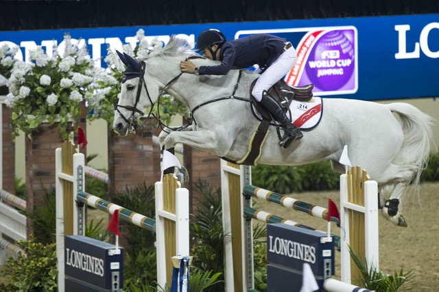 Irishman Allen off to a flying start in FEI World Cup Jumping Final