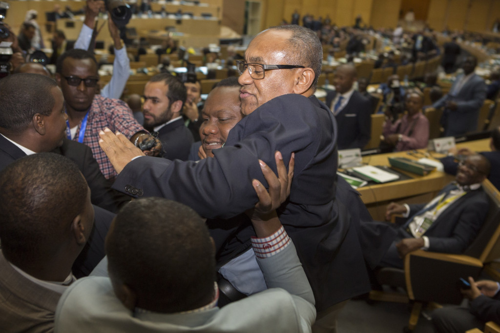 Ahmad ends Hayatou's 29-year reign as CAF President