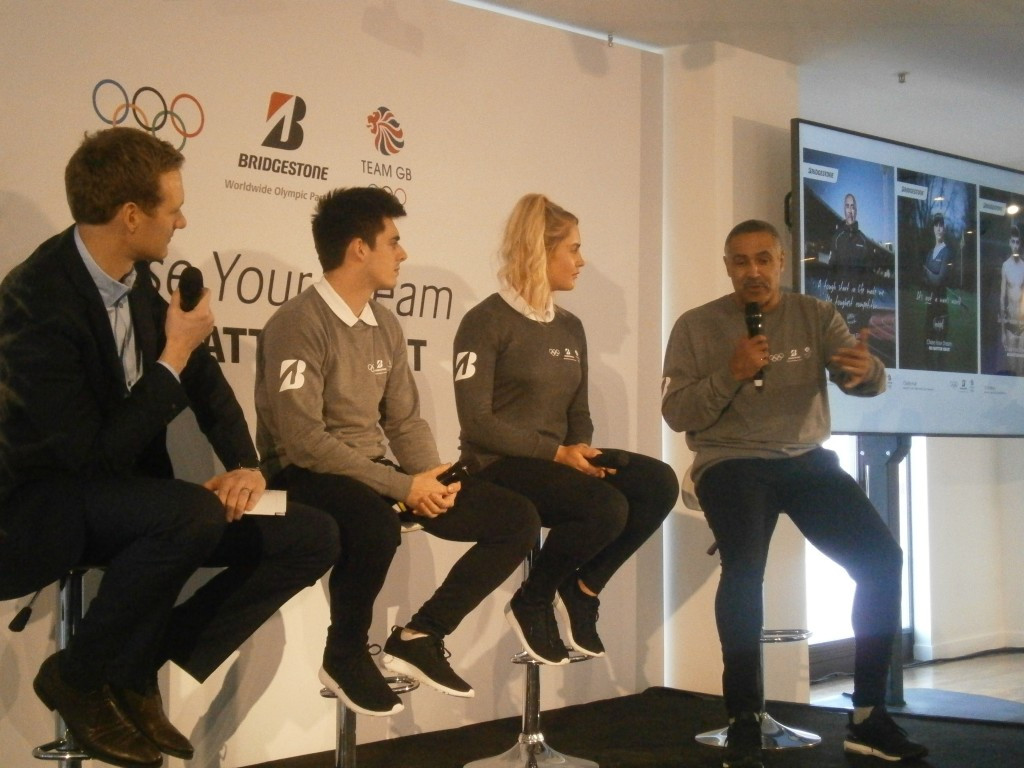 Daley Thompson was one of three athletes unveiled as ambassadors ©ITG