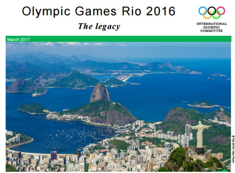 A document showing the supposed legacy benefits of Rio 2016 has been beamed around the world ©IOC