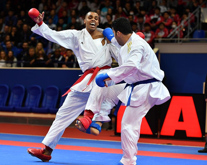 The Karate1 Premier League is set to continue this weekend in Rotterdam ©WKF