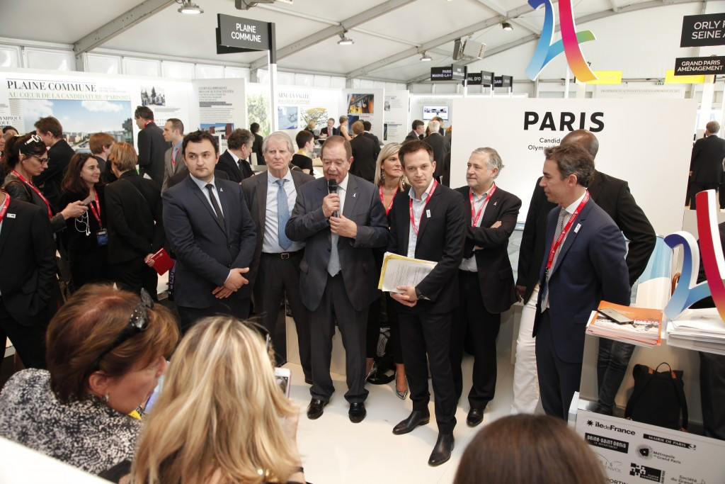 Paris 2024 pledged to achieve innovative and sustainable development ©Paris 2024