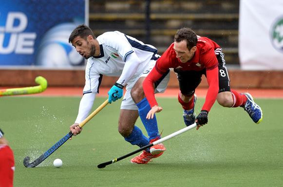 Semi-finalists for Hockey World League Round Two in Belfast decided