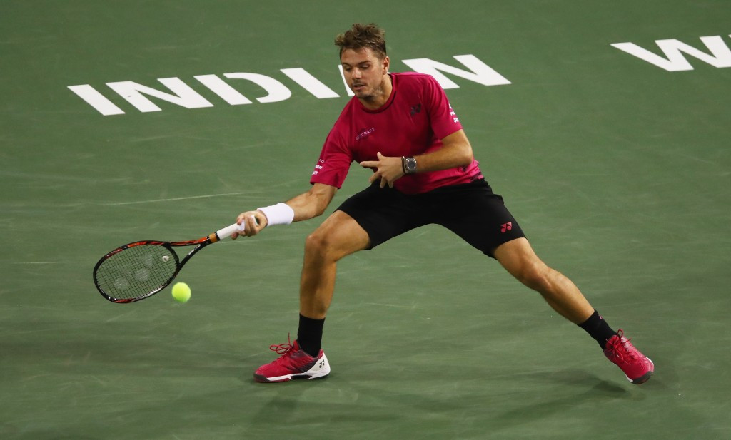 Wawrinka reaches Indian Wells semi-finals with thrilling win