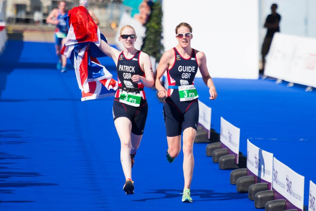 Alison Patrickwas among three British winners at the World Para-triathlon event in Buffalo City ©British Triathlon