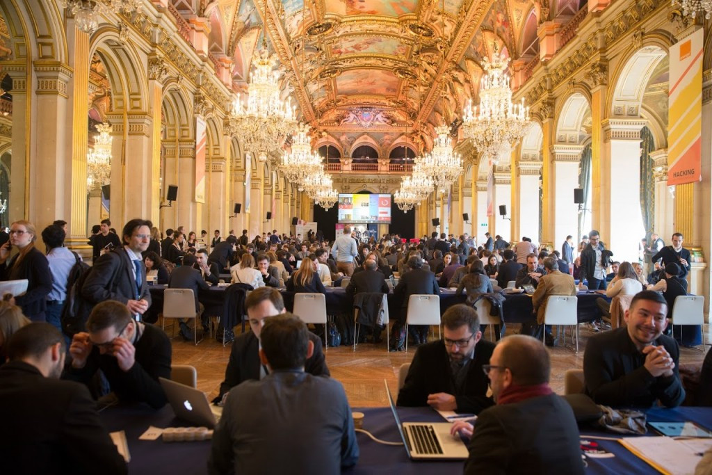 The Hacking of City Hall event was hosted by Paris Mayor Anne Hidalgo yesterday ©Paris 2024