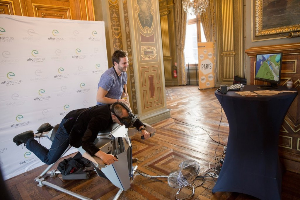 The event sought new ways to integrate the latest technology into the organisation of major sporting events ©Paris 2024
