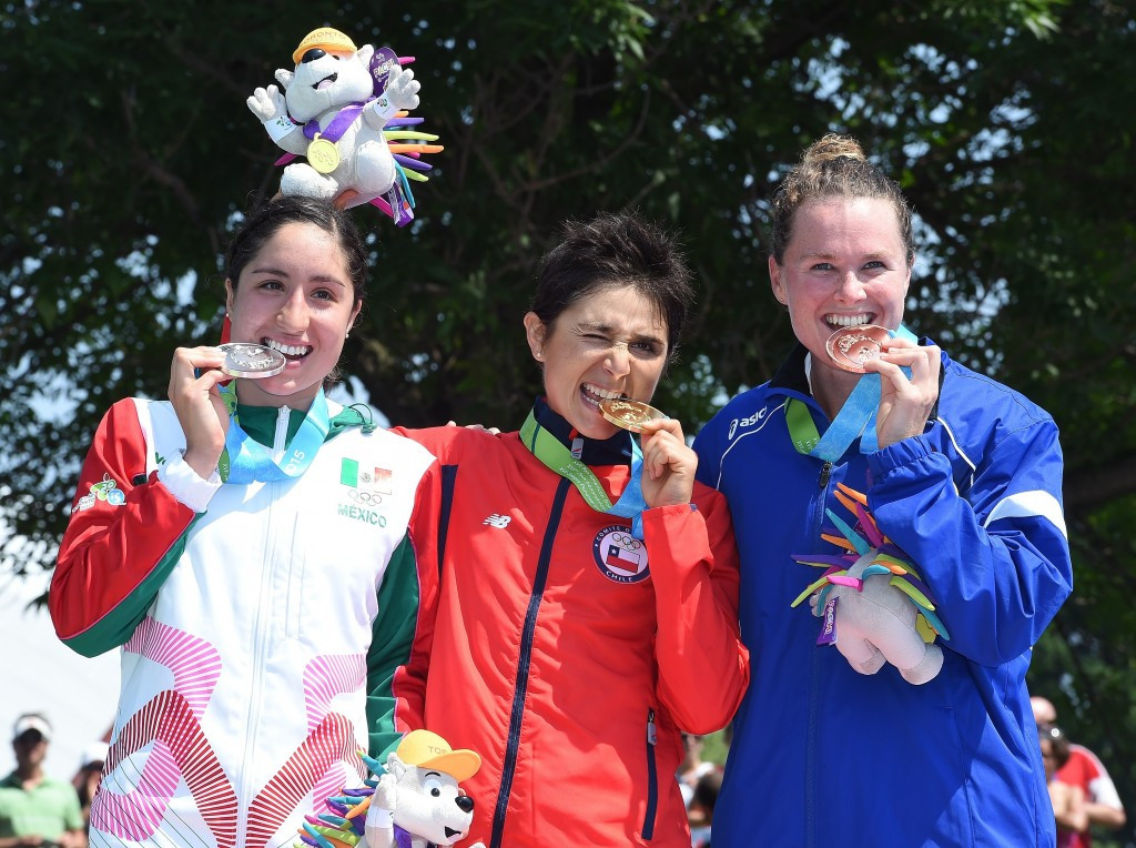 All three athletes claimed their country's first ever triathlon Pan American Games medals
