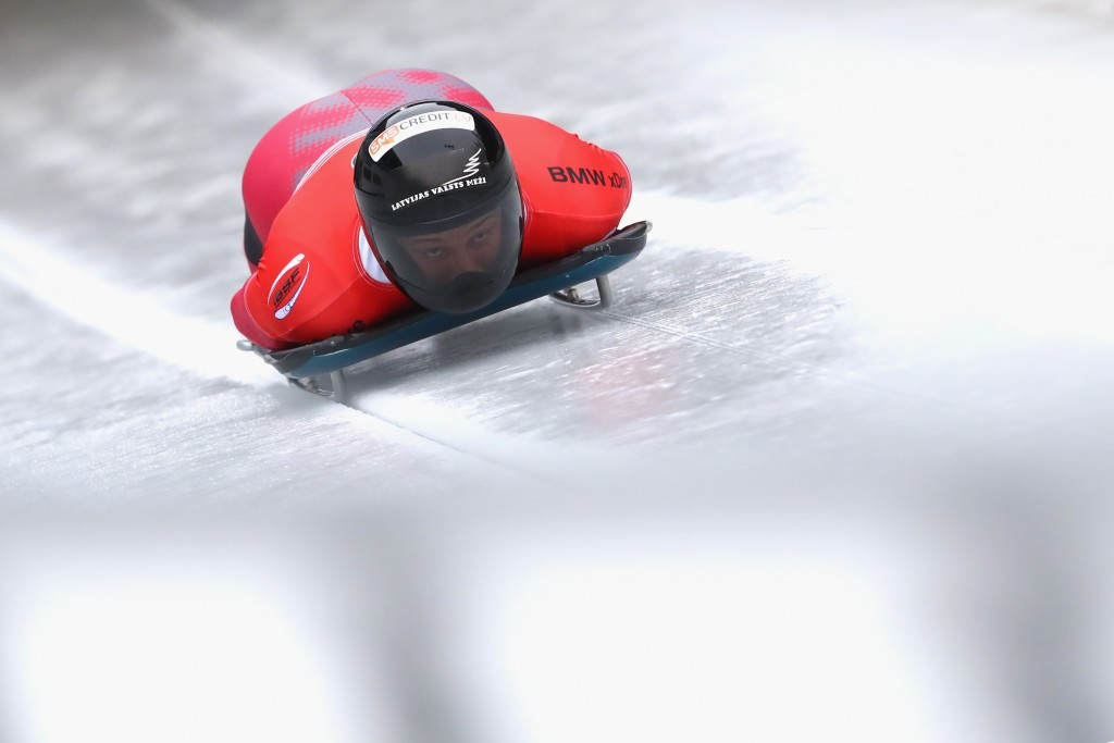 Latvian Dukurs looks for second skeleton IBSF World Cup win on home soil