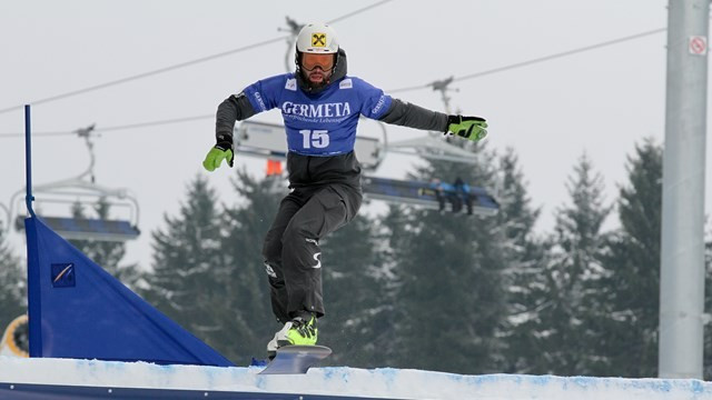 Andreas Prommegger is hoping to win the third crystal globe of his career ©FIS