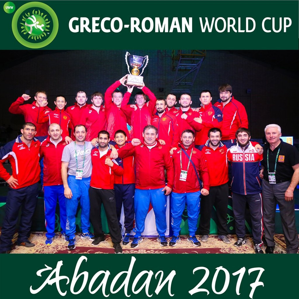 Russia beat Azerbaijan to top honours at Greco-Roman World Cup