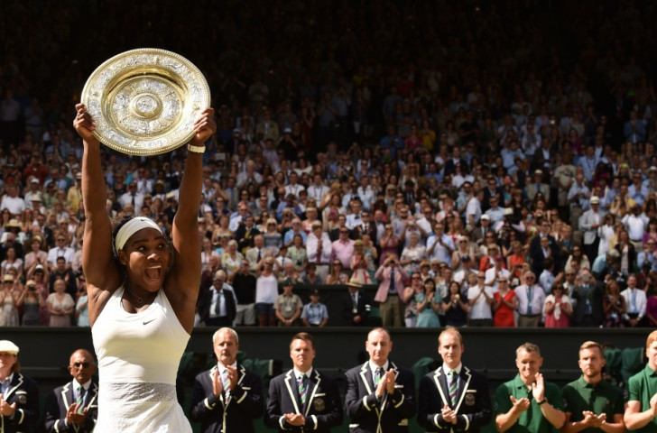 "Williams completes ""Serena Slam"" with clinical Wimbledon singles victory"