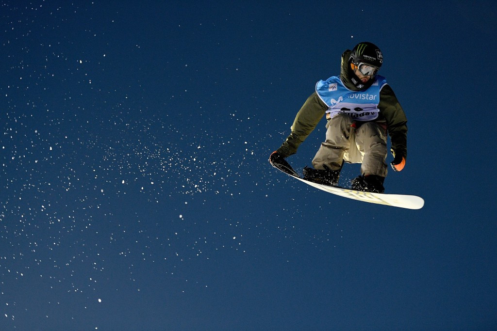 Norway's Staale Sandbech came out on top in the men's big air event ©Getty Images