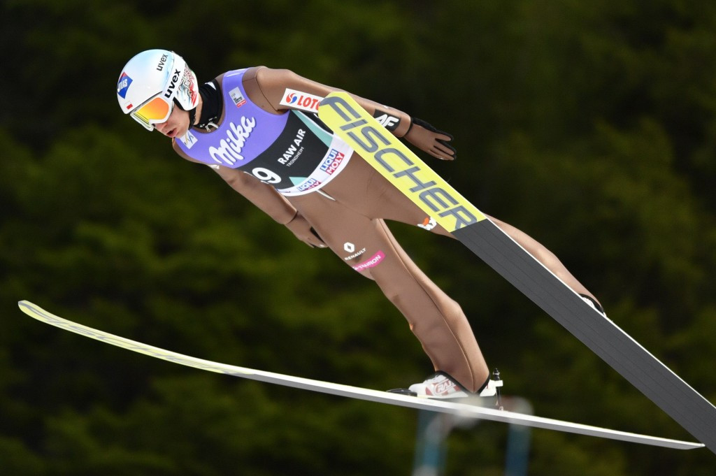 Stoch tops qualification standings at FIS Ski Jumping World Cup in Vikersund