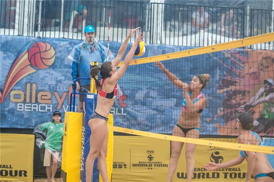 Shepparton winners reach FIVB Beach World Tour semis in Sydney