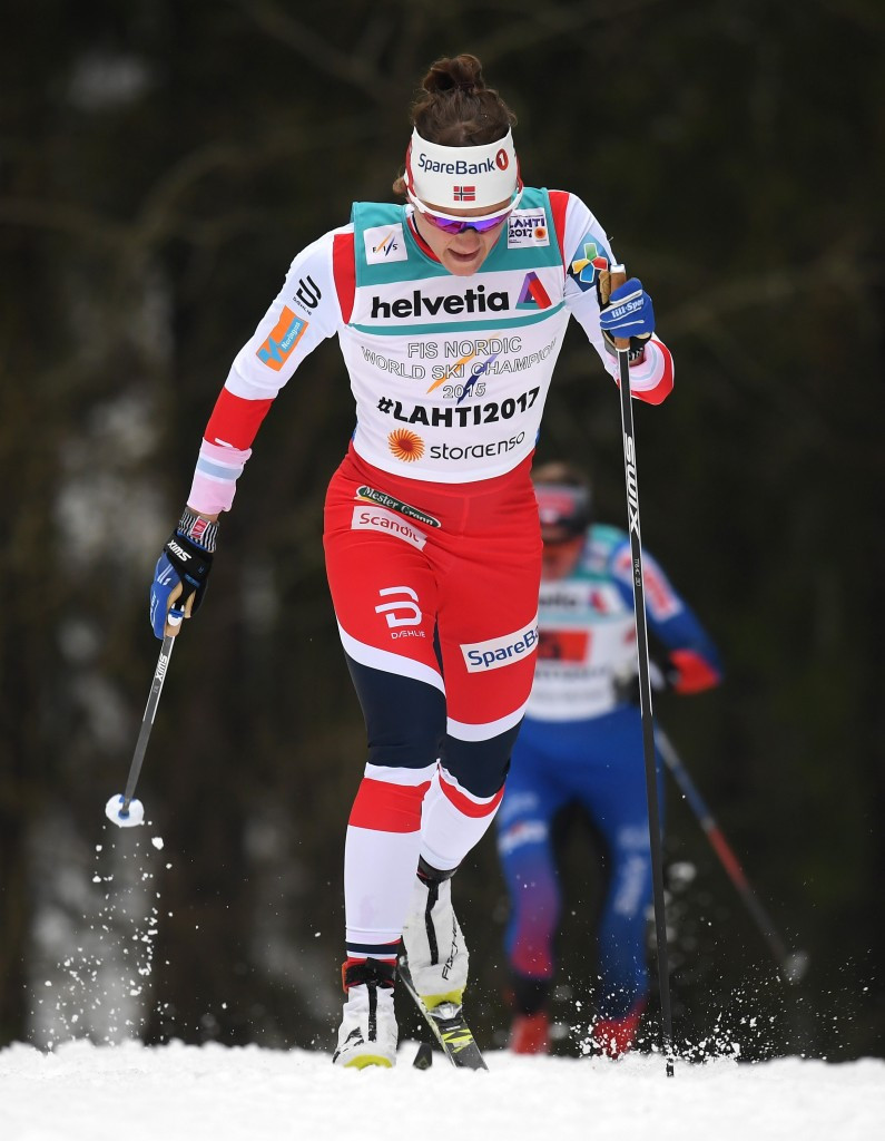 Maiken Caspersen Falla claimed the FIS Cross-Country World Cup sprint crystal globe today in Quebec City ©Getty Images