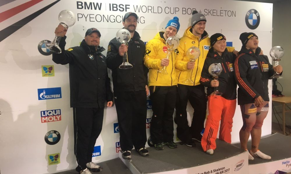 Friedrich seals first-ever overall IBSF World Cup crown at Pyeongchang 2018 test event