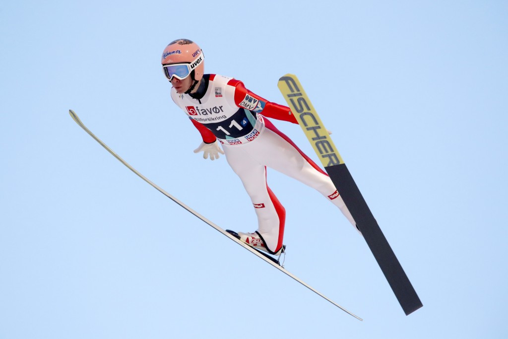 Austria's Kraft breaks world record as Norway win team event at FIS Ski Jumping World Cup