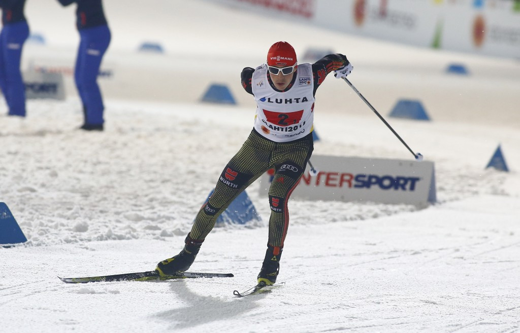 Rydzek crash helps Frenzel extend FIS Nordic Combined lead