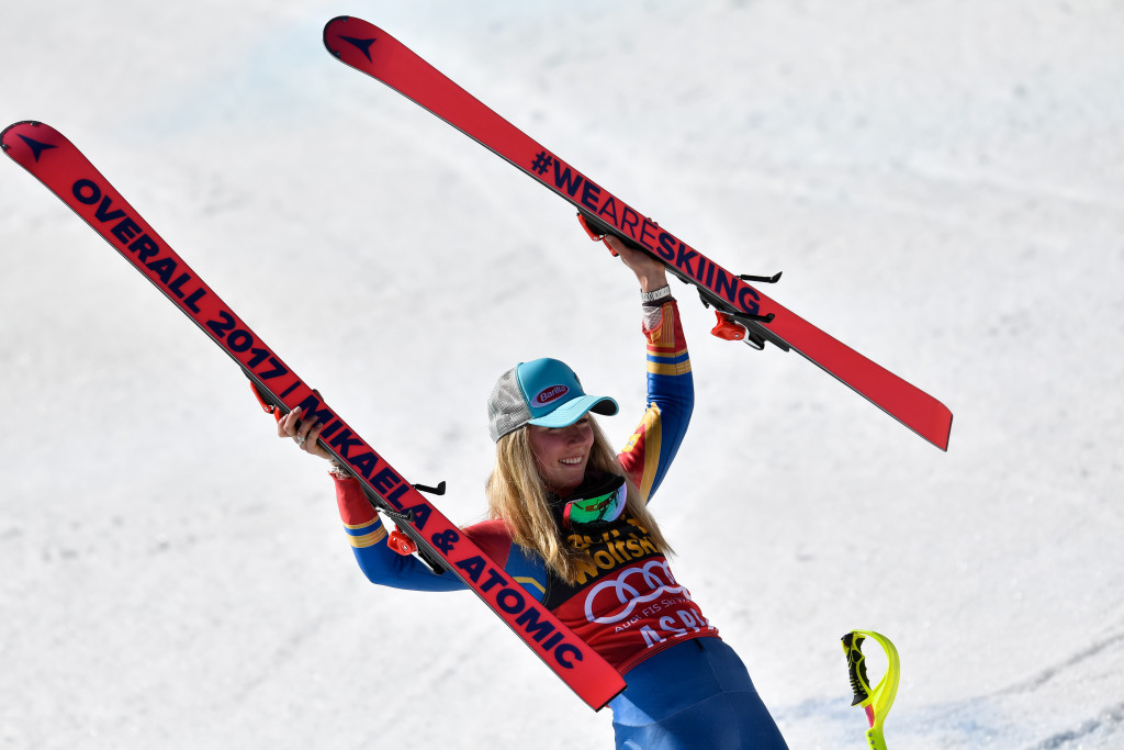 Shiffrin claims overall World Cup title after Stuhec pulls out of slalom in Aspen