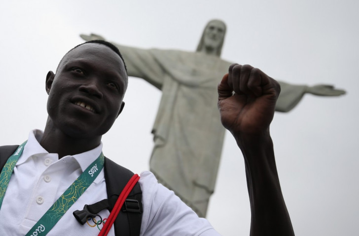 Paulo Amotun Lokoro, one of 10 athletes in the Refugee Olympic Team at Rio 2016, will take part in the new mixed relay event at the IAAF World Cross Country Championships ©Getty Images