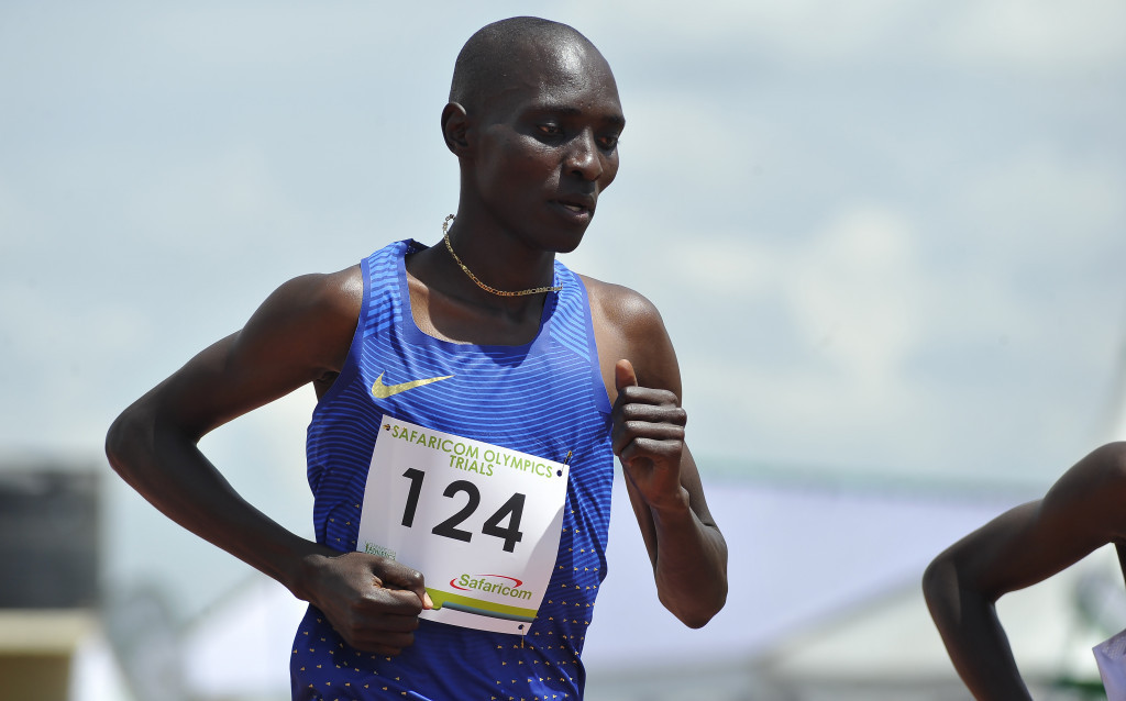 Olympic 1500m gold medallist Asbel Kiprop is one of the Kenyan athletes taking part in Uganda ©Getty Images