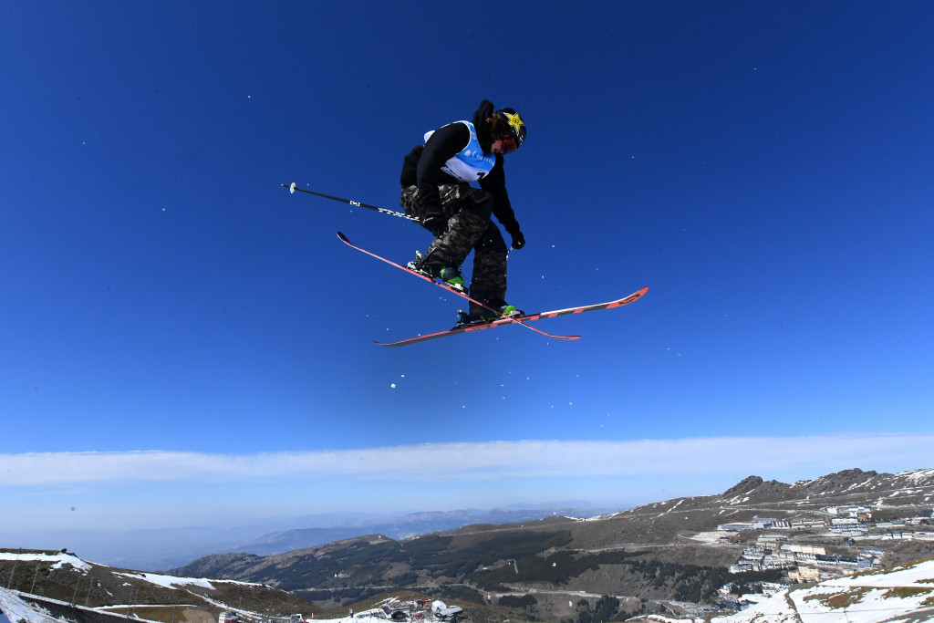 The United States' McRae Williams won the men's slopestyle event ©Getty Images