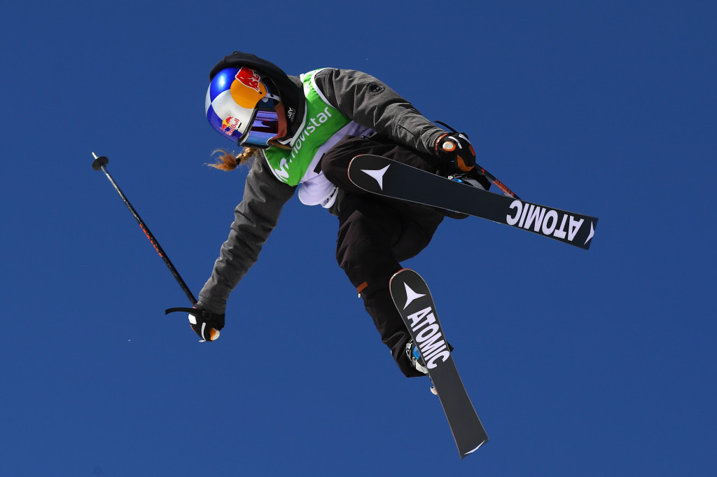 Fifteen-year-old Tess Ledeux of France won the women's slopestyle title as action came to a close today at the FIS Freestyle Ski and Snowboard World Championships in Sierra Nevada in Spain ©Getty Images