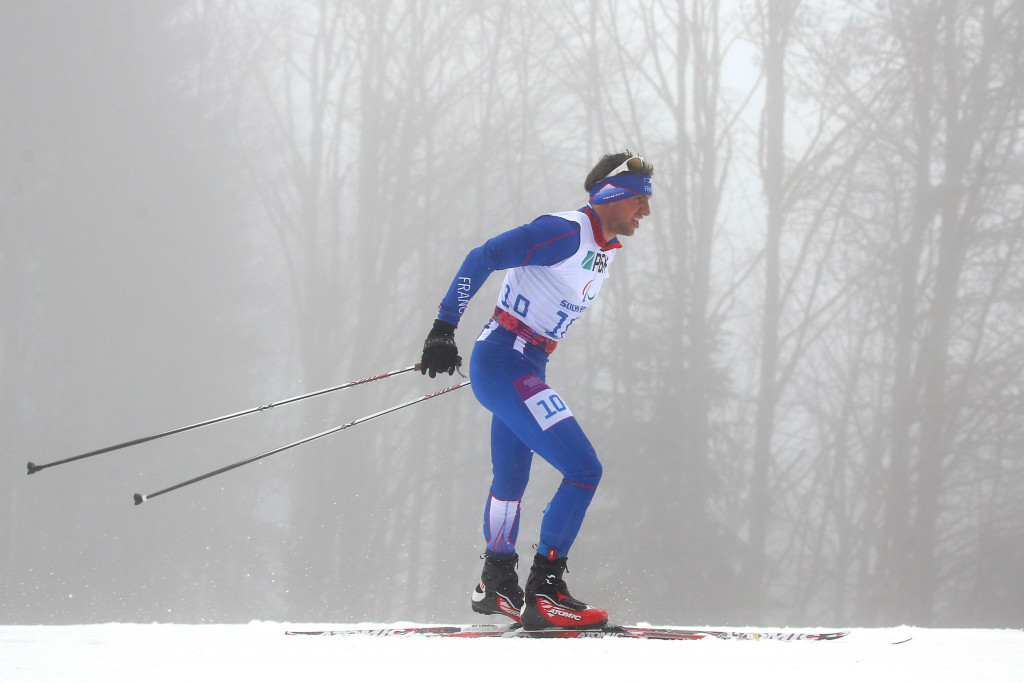 France's Benjamin Daviet won the men's standing race ©Getty Images