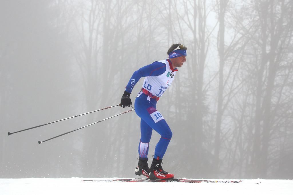 France's Benjamin Daviet won the men's standing race ©Getty Images