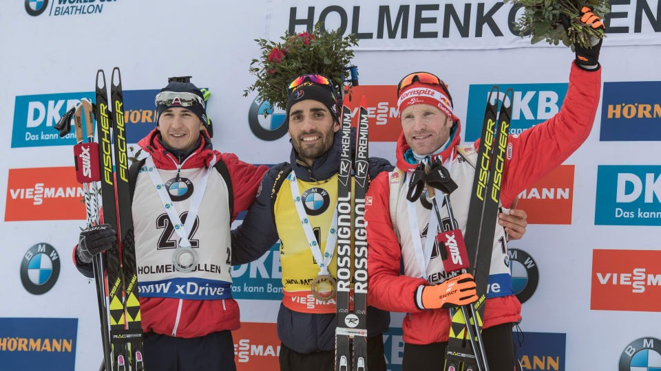 Fourcade claims impressive 14th win of IBU World Cup season in Oslo