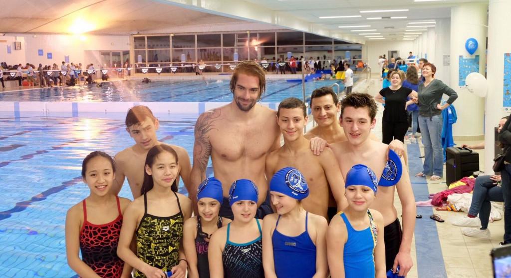 Paris 2024 has backed the La Nuit de l'Eau swimming event ©Paris 2024