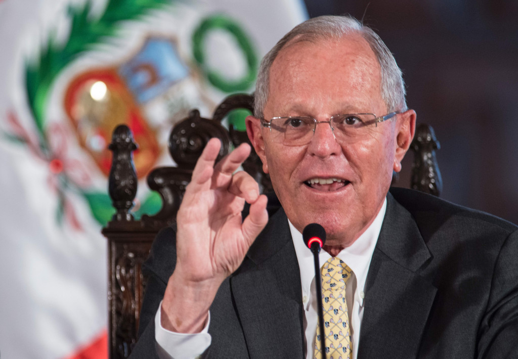 Peruvian President Pedro Pablo Kuczynski said moving the Games would be a tragedy ©Getty Images