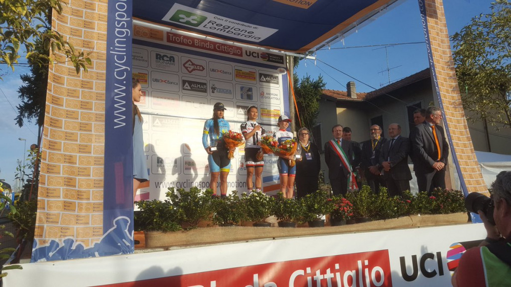 American Rivera sprints to victory at Trofeo Alfredo Binda