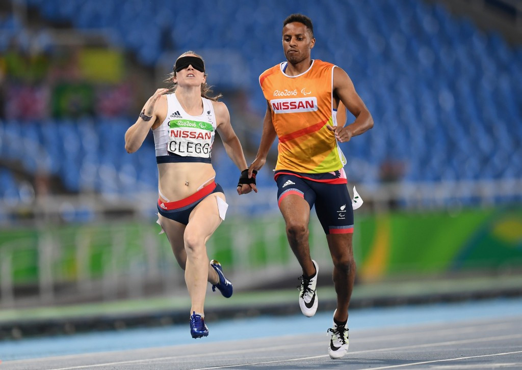 Libby Clegg will compete in both the 100m and 200m T11 events ©Getty Images