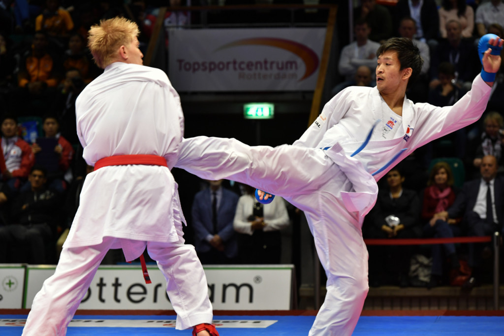 Japan shine on finals day at Rotterdam Karate-1 Premier League