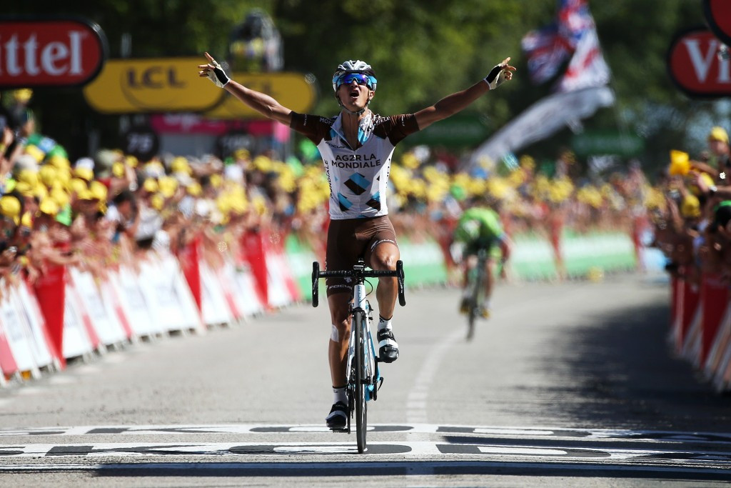 Vuillermoz earns first French stage victory of 2015 Tour de France