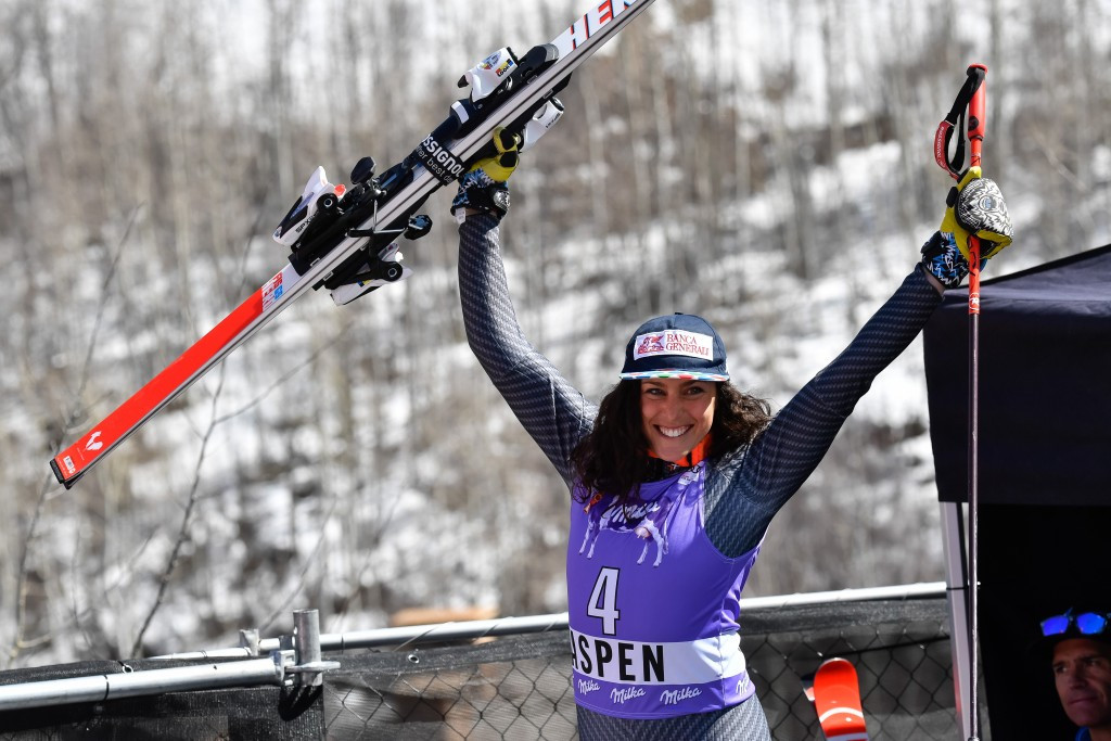 Italy dominate women's giant slalom as Alpine Skiing World Cup concludes in Aspen