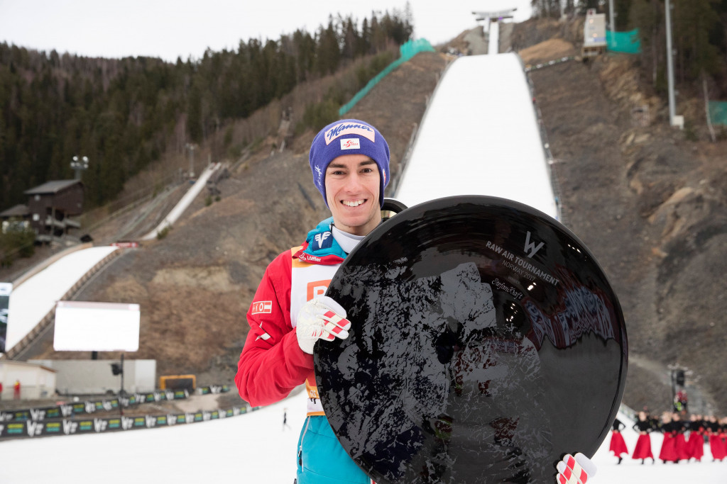 Kraft wins Raw Air Tournament despite Stoch win in Vikersund