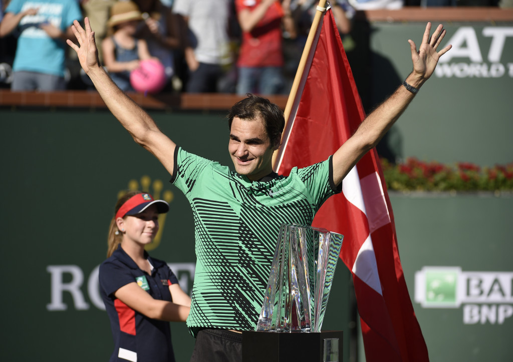 Federer defeats Wawrinka to win fifth Indian Wells Masters title