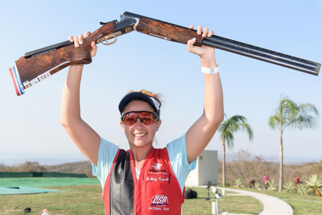 Carroll claims women's trap gold medal at ISSF World Cup