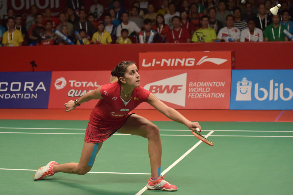 Total will remain the official energy partner for all BWF major events, including the World Championships ©Getty Images