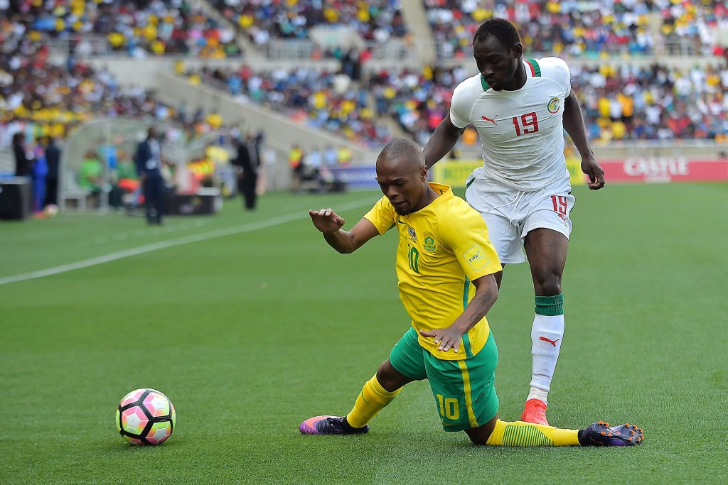 Ghanaian referee Joseph Odartei Lamptey has been banned for life by FIFA for match-fixing after he awarded a controversial penalty to South Africa during their World Cup qualifier with Senegal ©Getty Images