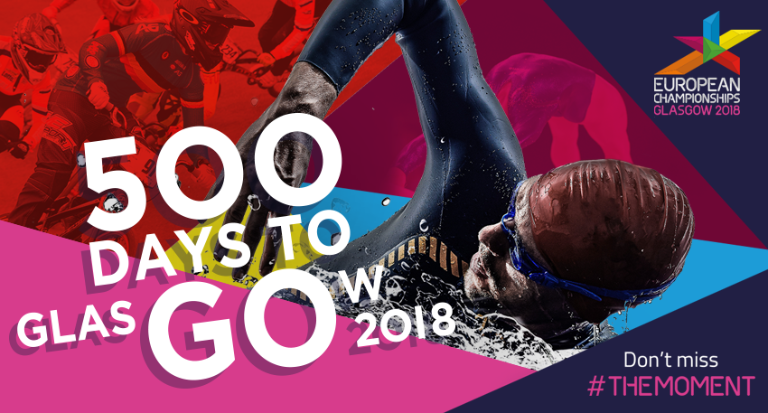 "Glasgow 2018 has marked 500 days to go until next year's European Championships by revealing that a ""vibrant cultural festival"" is being developed to run alongside the new multi-sport event ©Glasgow 2018"