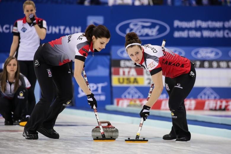 Canada preserve unbeaten record at World Women's Curling Championship
