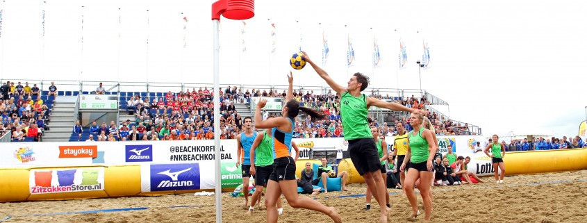 Beach korfball is being heavily promoted by the IKF ©IKF