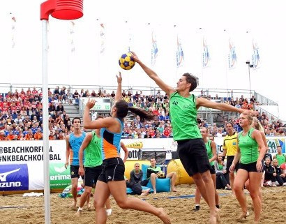 The Hague will host the IKF's first beach korfball tournament ©IKF