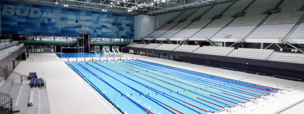 The newly-named Danube Aquatics Arena will be the main venue for the FINA World Championships ©FINA